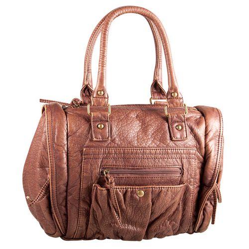 Marleen Maria Bowling Bag Tasche Camel