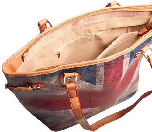 Liberta Grace Union Jack Shopper UK