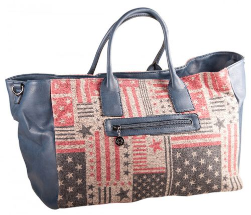 Liberta Louanne Shopper Bag Stars And Stripes