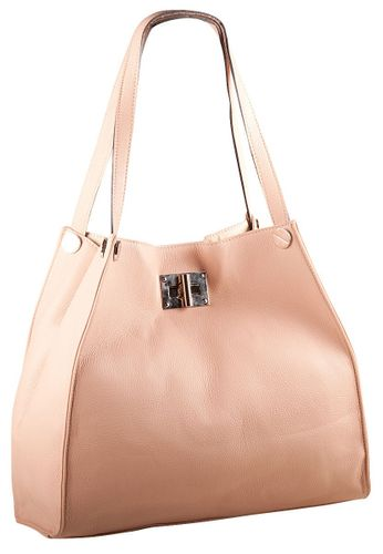 Pelle Italy Rosa Shopperbag Shopper Tasche Damen Apricot