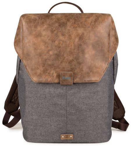 Zwei Olli O14 Stone Grau Rucksack Laptop Rucksack Backpack