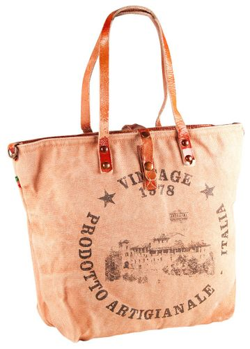 Pelle Italy Tasche Gianella Shopper Bag Apricot