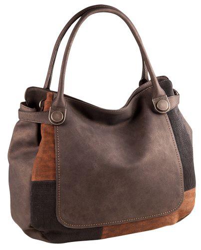 Liberta Apollina LI1032 Shopper Tasche Damen Grau