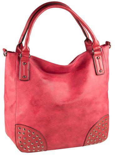 Liberta Delmare Shopper Tasche Damen Rot