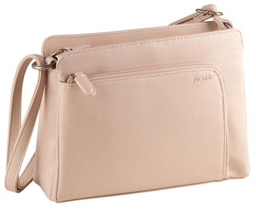 Picard Full 3408 Schultertasche Creme