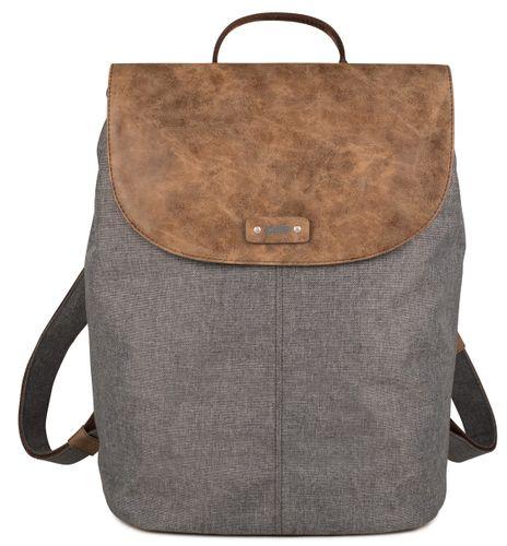 Zwei Olli O13 Graphit Grau Rucksack Backpack City Daypack