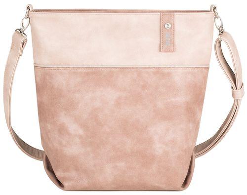 Zwei Bags Jana J12 Tasche Umhängetasche Damen Nubuk Stone