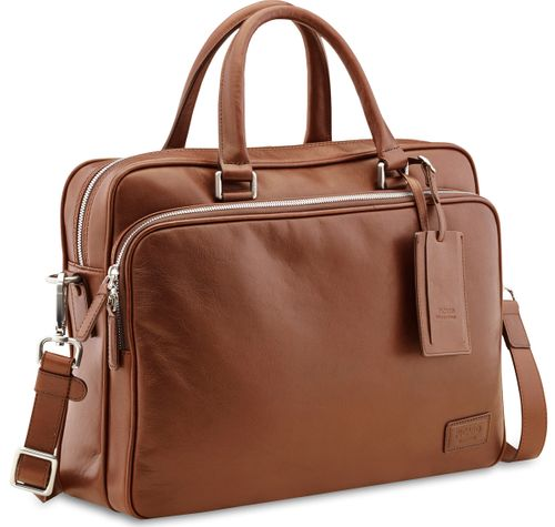 Picard Authentic 4010 Cognac Aktentasche Business Tasche Leder Herren