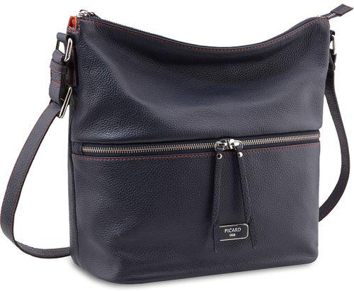 Picard Dakota 4490 Schwarz Tasche Leder Umhängetasche Damen