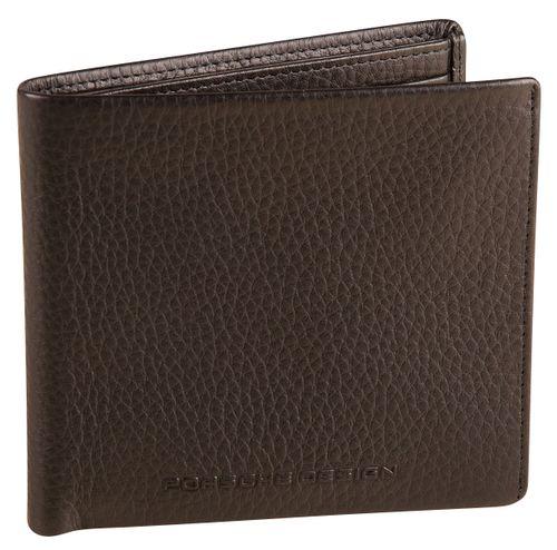 Porsche Design Cervo 2.1 Wallet H8 Black Geldbörse Leder Herren