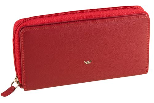 Golden Head Polo RV-Damenbörse Rot 2803-50 Geldbörse Damen Leder