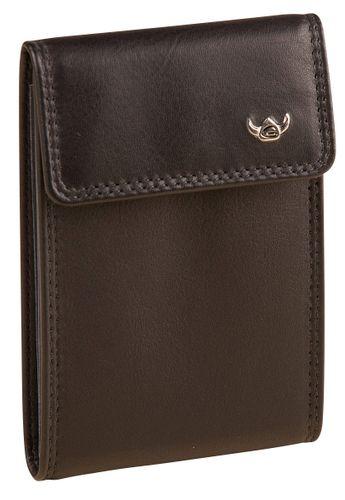 Golden Head Polo Kreditkartenetui Schwarz 4499-50 Leder