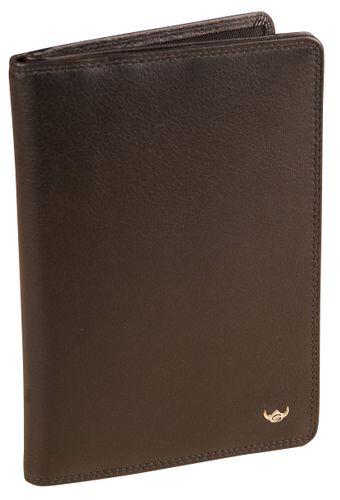 Golden Head Polo Brieftasche 4040-50 Portemonnaie Herren Leder Schwarz