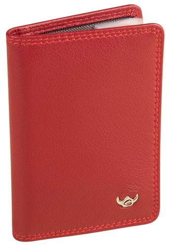 Golden Head Polo Kreditkartenetui 4431-50 Rot Kartenetui