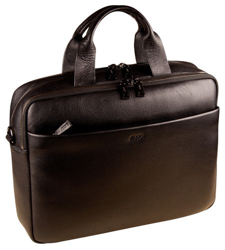 Joop Cardona Pandion Briefbag MHZ Aktentasche Leder Black