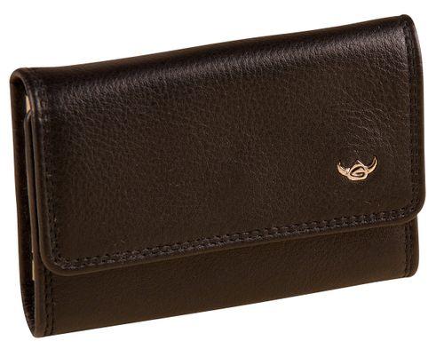 Golden Head Polo Schlüsseletui Schwarz Leder