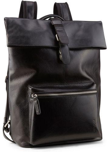 Picard Buddy 4758 Schwarz Rucksack Leder Notebook Backpack