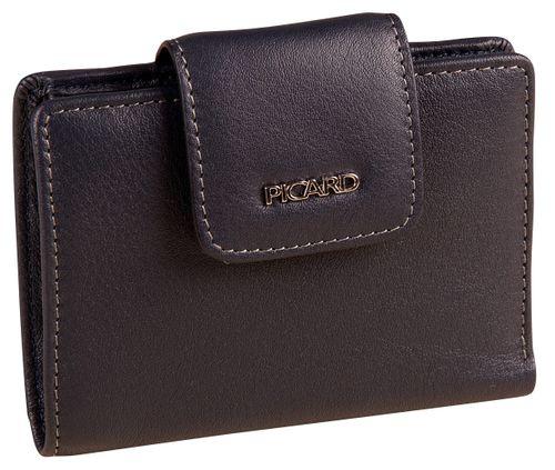 Picard Ladysafe 9262 Schwarz Geldbeutel RFID Damen Leder