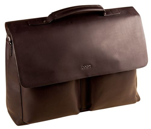 Joop Liana 2 Kreon Briefbag LHF Dark Brown Aktentasche Leder Herren Briefcase
