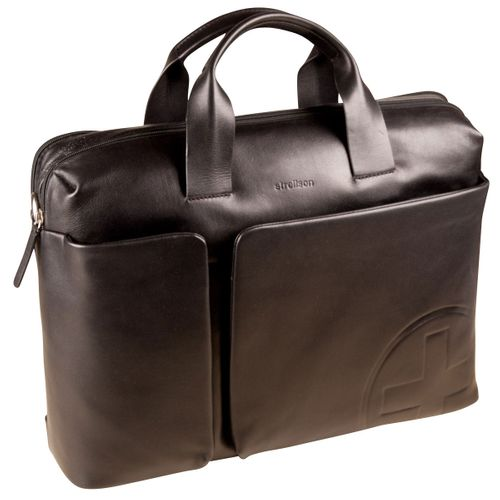 Strellson Jones Nelius Briefbag MHZ Black Aktentasche Leder Herren
