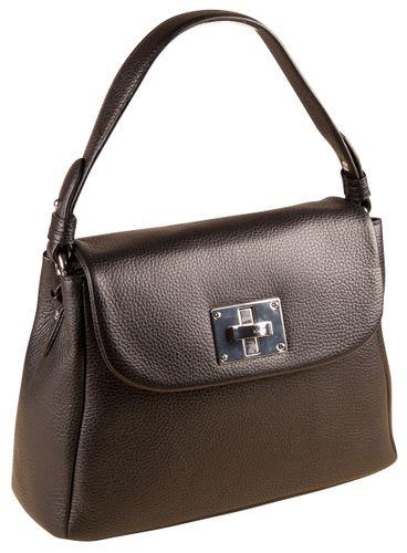 Joop Chiara Mila Shoulderbag MHF Black Tasche Leder Damen Henkeltasche